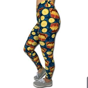 Ambrie OS Pirates of the Caribbean Leggings